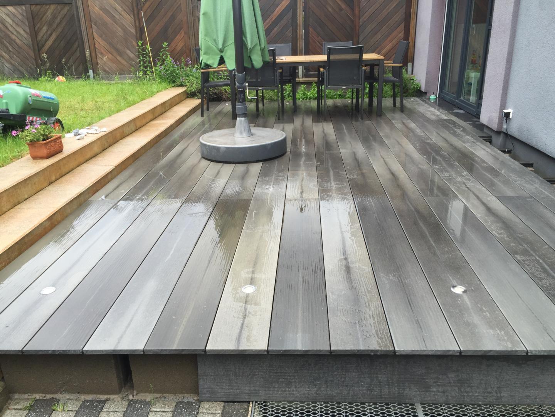 Terrasse Surélevée En Acier terrasses - f&s jardinage