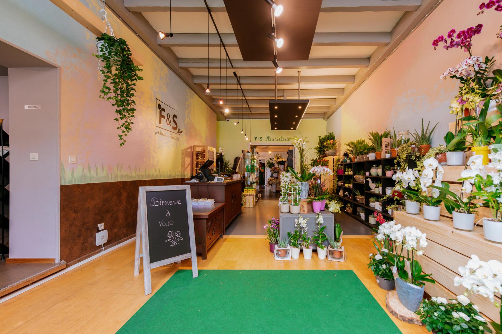 Ouverture du magasin F&S Fleuriste