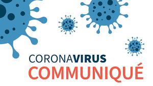 Corona virus communiqué