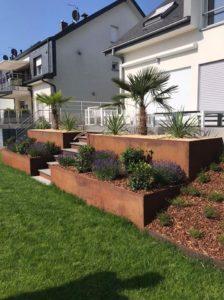 Le jardin avec des plantes méditerranéen luxembourg fentange hesperange